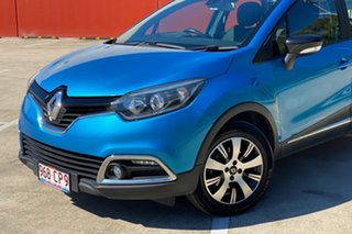 2015 Renault Captur J87 Expression Blue 6 Speed Automated Manual Wagon.