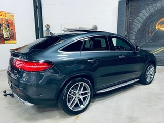 2015 Mercedes-Benz GLE-Class C292 GLE350 d Coupe 9G-Tronic 4MATIC Grey 9 Speed Sports Automatic