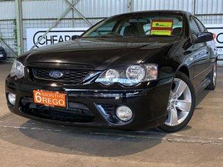2006 Ford Falcon BF Mk II XR6 Black 6 Speed Sports Automatic Sedan.