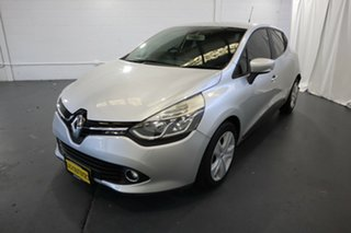 2013 Renault Clio IV B98 Expression EDC Silver 6 Speed Sports Automatic Dual Clutch Hatchback