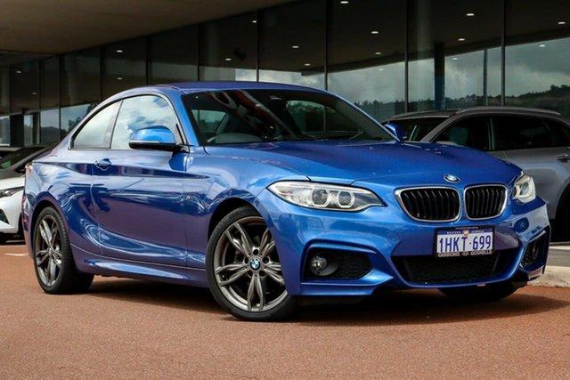 Used BMW 2 Series F22 220i Sport Line Gosnells, 2017 BMW 2 Series F22 220i Sport Line Blue 8 Speed Sports Automatic Coupe