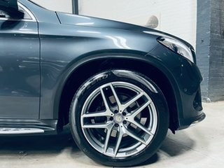 2015 Mercedes-Benz GLE-Class C292 GLE350 d Coupe 9G-Tronic 4MATIC Grey 9 Speed Sports Automatic.