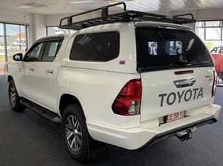 2016 Toyota Hilux GUN126R SR5 Double Cab White 6 Speed Sports Automatic Utility