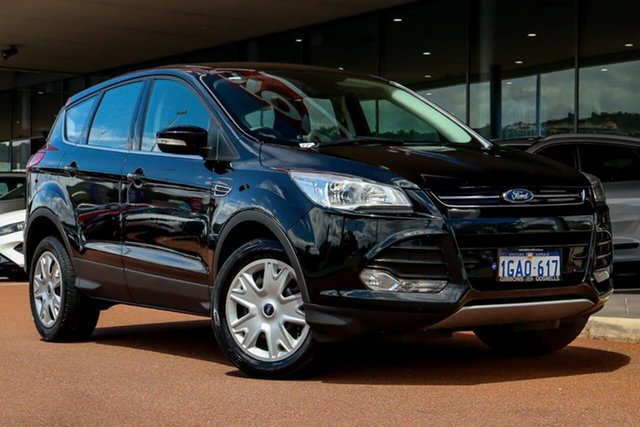 Used Ford Kuga TF MY16 Ambiente 2WD Gosnells, 2016 Ford Kuga TF MY16 Ambiente 2WD Black 6 Speed Sports Automatic Wagon