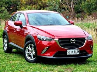 2016 Mazda CX-3 DK2W76 Maxx SKYACTIV-MT Red 6 Speed Manual Wagon.