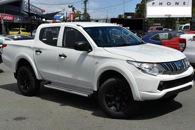 Used Mitsubishi Triton MQ MY16 GLX (4x4) Underwood, 2015 Mitsubishi Triton MQ MY16 GLX (4x4) White 5 Speed Automatic Dual Cab Utility