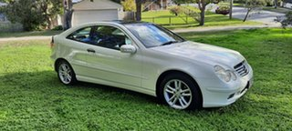 2003 Mercedes-Benz C180 SPORT White 6 Speed Manual Coupe