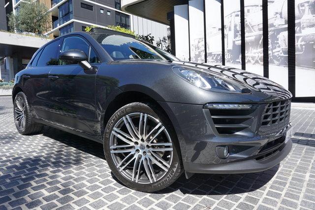 Used Porsche Macan East Brisbane, 2018 Porsche Macan 95B No Badge Volcano Grey 7 Speed Sports Automatic Dual Clutch Wagon