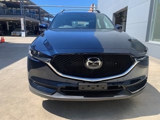 2021 Mazda CX-5 KF4WLA Akera SKYACTIV-Drive i-ACTIV AWD Deep Crystal Blue 6 Speed Sports Automatic.