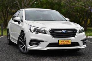 2018 Subaru Liberty B6 MY18 2.5i CVT AWD White 6 Speed Constant Variable Sedan.