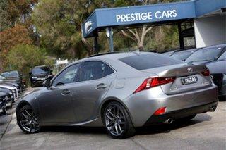 2016 Lexus IS ASE30R IS200t F Sport Silver 8 Speed Sports Automatic Sedan.