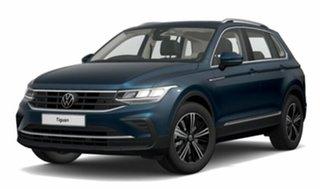 2021 Volkswagen Tiguan 5N MY22 110TSI Life DSG 2WD Blue 6 Speed Sports Automatic Dual Clutch Wagon