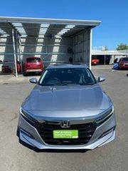 2019 Honda Accord 10th Gen MY19 VTi-LX E-CVT Silver 1 Speed Constant Variable Sedan Hybrid.
