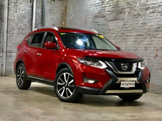 2017 Nissan X-Trail T32 Series II Ti X-tronic 4WD Red 7 Speed Constant Variable Wagon.