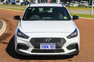 2021 Hyundai i30 PD.V4 MY22 N Line Polar White 6 Speed Manual Hatchback.