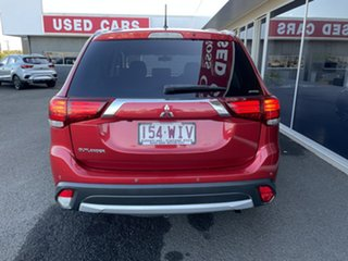 2016 Mitsubishi Outlander ZK MY16 LS 4WD Red 6 Speed Constant Variable Wagon