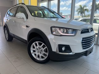 2017 Holden Captiva CG MY18 Active 2WD White 6 Speed Sports Automatic Wagon.