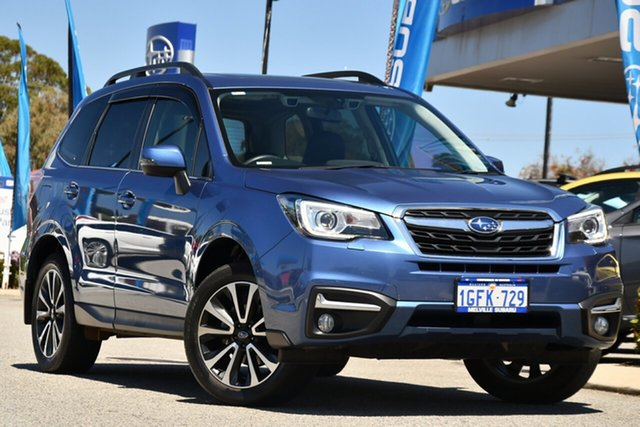 Used Subaru Forester S4 MY17 2.5i-S CVT AWD Melville, 2017 Subaru Forester S4 MY17 2.5i-S CVT AWD Quartz Blue 6 Speed Constant Variable Wagon