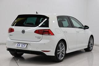 2015 Volkswagen Golf VII MY15 110TDI DSG Highline White 6 Speed Sports Automatic Dual Clutch