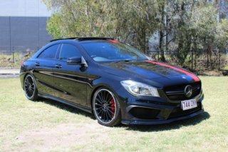 2015 Mercedes-Benz CLA-Class C117 806MY CLA45 AMG SPEEDSHIFT DCT 4MATIC Black 7 Speed