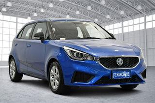 2020 MG MG3 SZP1 MY21 Core Regal Blue 4 Speed Automatic Hatchback.