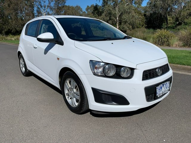 Used Holden Barina TM CD Geelong, 2012 Holden Barina TM CD White Automatic Hatchback