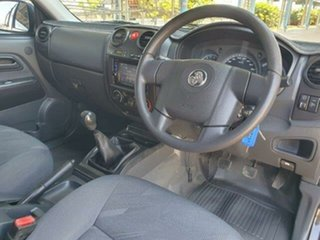 2011 Holden Colorado RC MY11 LX Crew Cab Black 5 Speed Manual Utility