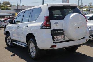 2017 Toyota Landcruiser Prado GDJ150R GX White 6 Speed Sports Automatic Wagon.