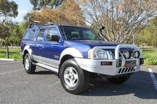2003 Nissan Navara D22 MY2002 ST-R Blue 5 Speed Manual Utility.