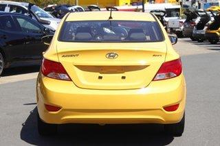 2018 Hyundai Accent RB6 MY18 Sport Yellow 6 Speed Sports Automatic Sedan