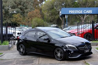 2017 Mercedes-Benz A-Class W176 808MY A180 D-CT 7 Speed Sports Automatic Dual Clutch Hatchback.