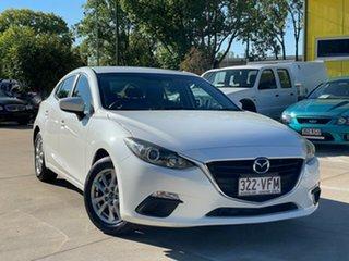 2014 Mazda 3 BM5476 Maxx SKYACTIV-MT White 6 Speed Manual Hatchback.