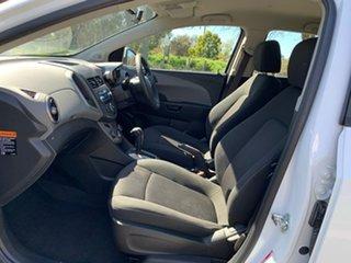 2012 Holden Barina TM CD White Automatic Hatchback