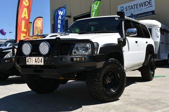 Used Nissan Patrol GU VI DX (4x4) Capalaba, 2010 Nissan Patrol GU VI DX (4x4) White 5 Speed Manual Wagon