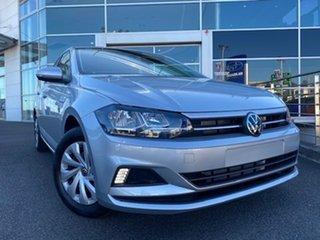 2021 Volkswagen Polo AW MY21 70TSI DSG Trendline Reflex Silver 7 Speed Sports Automatic Dual Clutch.
