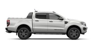 2021 Ford Ranger PX MkIII 2021.75MY Wildtrak Alabaster White 10 Speed Sports Automatic.