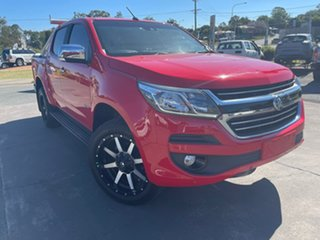 2018 Holden Colorado RG MY18 LTZ Pickup Crew Cab Red 6 Speed Sports Automatic Utility.