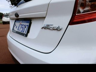 2010 Ford Fiesta WS Zetec White 4 Speed Automatic Hatchback.