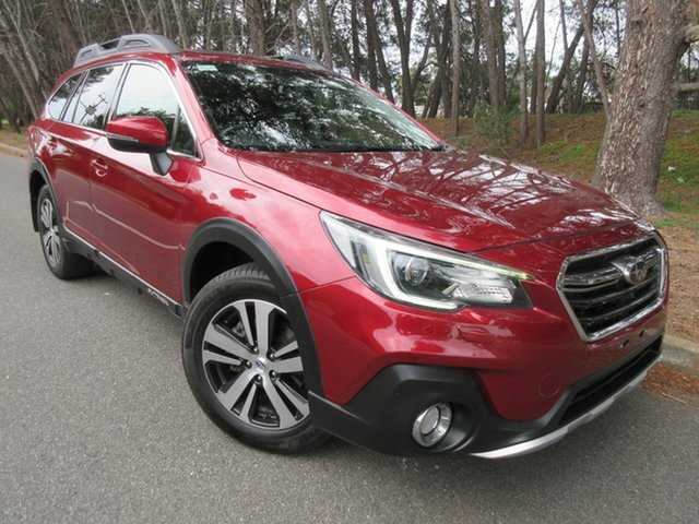 Used Subaru Outback B6A MY18 2.5i CVT AWD Premium Reynella, 2018 Subaru Outback B6A MY18 2.5i CVT AWD Premium Red 7 Speed Constant Variable Wagon