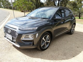 2020 Hyundai Kona Os.v4 MY21 Highlander 2WD Dark Knight 8 Speed Constant Variable Wagon.