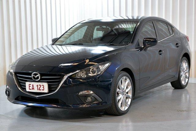 Used Mazda 3 BM5238 SP25 SKYACTIV-Drive Hendra, 2016 Mazda 3 BM5238 SP25 SKYACTIV-Drive Blue 6 Speed Sports Automatic Sedan