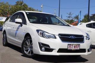 2016 Subaru Impreza G5 MY17 2.0i-L CVT AWD White 7 Speed Constant Variable Sedan.