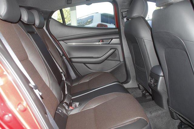 New Mazda 3 BP2HLA G25 SKYACTIV-Drive Astina Wollongong, 2021 Mazda 3 BP2HLA G25 SKYACTIV-Drive Astina Soul Red Crystal 6 Speed Sports Automatic Hatchback