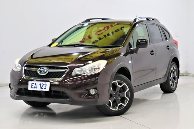 Used Subaru XV G4X MY13 2.0i-L Lineartronic AWD Brooklyn, 2013 Subaru XV G4X MY13 2.0i-L Lineartronic AWD Maroon 6 Speed Constant Variable Wagon