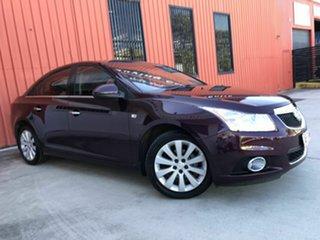 2012 Holden Cruze JH Series II MY12 CDX Maroon 6 Speed Sports Automatic Sedan.