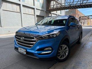 2015 Hyundai Tucson TLE Elite AWD Blue 6 Speed Sports Automatic Wagon.