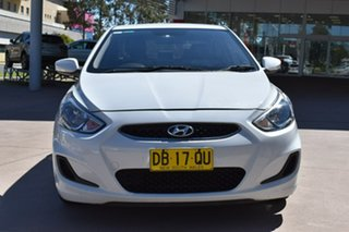 2017 Hyundai Accent RB5 MY17 Sport White 6 Speed Manual Sedan