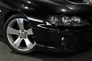 2005 Holden Monaro VZ CV8 Z Black 6 Speed Manual Coupe.