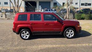 2013 Jeep Patriot MK MY12 Sport (4x2) Red 6 Speed CVT Auto Sequential Wagon.