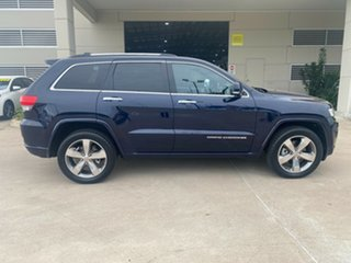2013 Jeep Grand Cherokee WK MY2013 Overland Blue 5 Speed Sports Automatic Wagon.